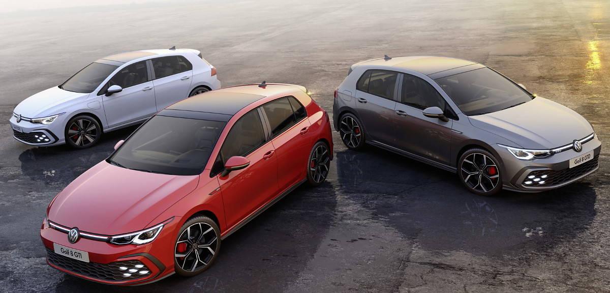 Nowe wersje Volkswagena Golfa: GTI, GTD i GTE