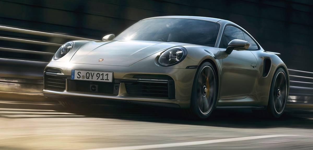 Porsche 911 Turbo S. Potężne!