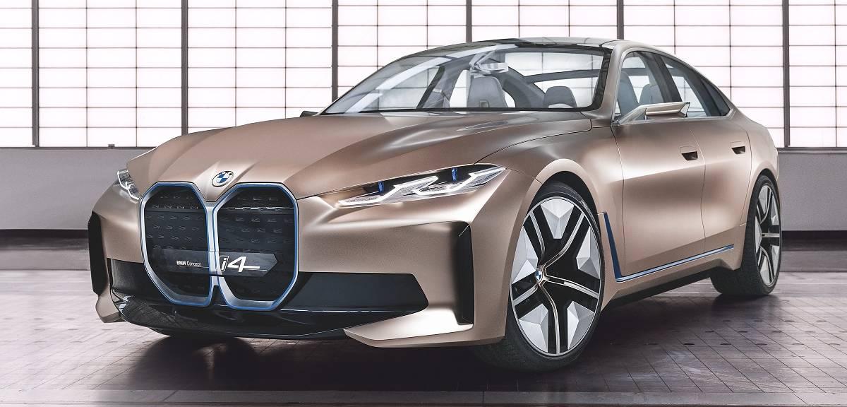 BMW Concept i4. Taki będzie nowy model