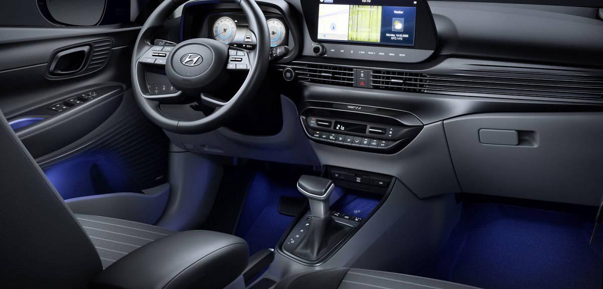 Hyundai i20 nowej generacji. Wnętrze!