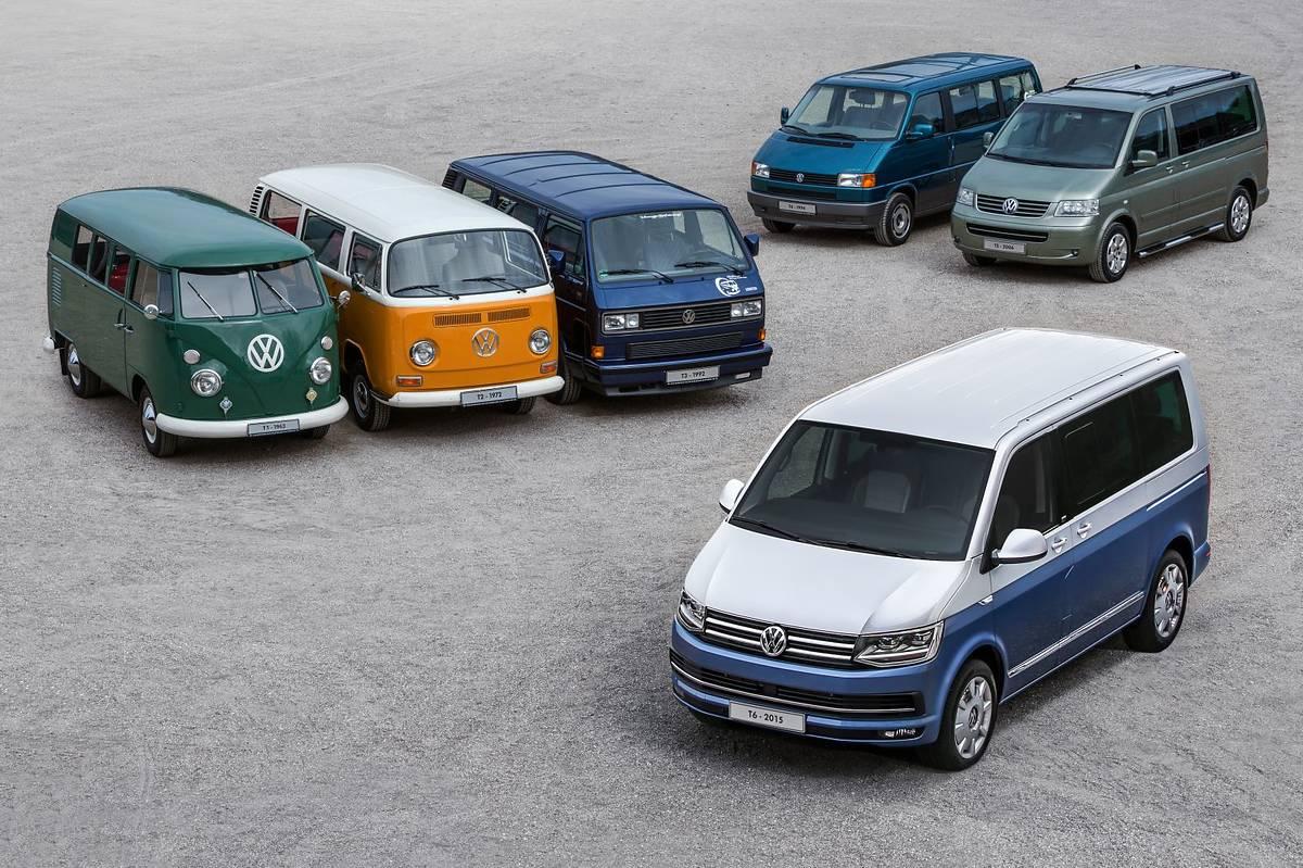 70 lat (!) Volkswagena Transportera
