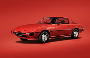 Mazda RX-7. Model z wyjątkowym silnikiem Wankla