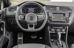 Wnętrze - Volkswagen Tiguan II generacji