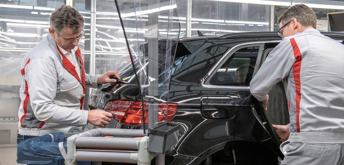 Audi będzie wznawiać produkcję