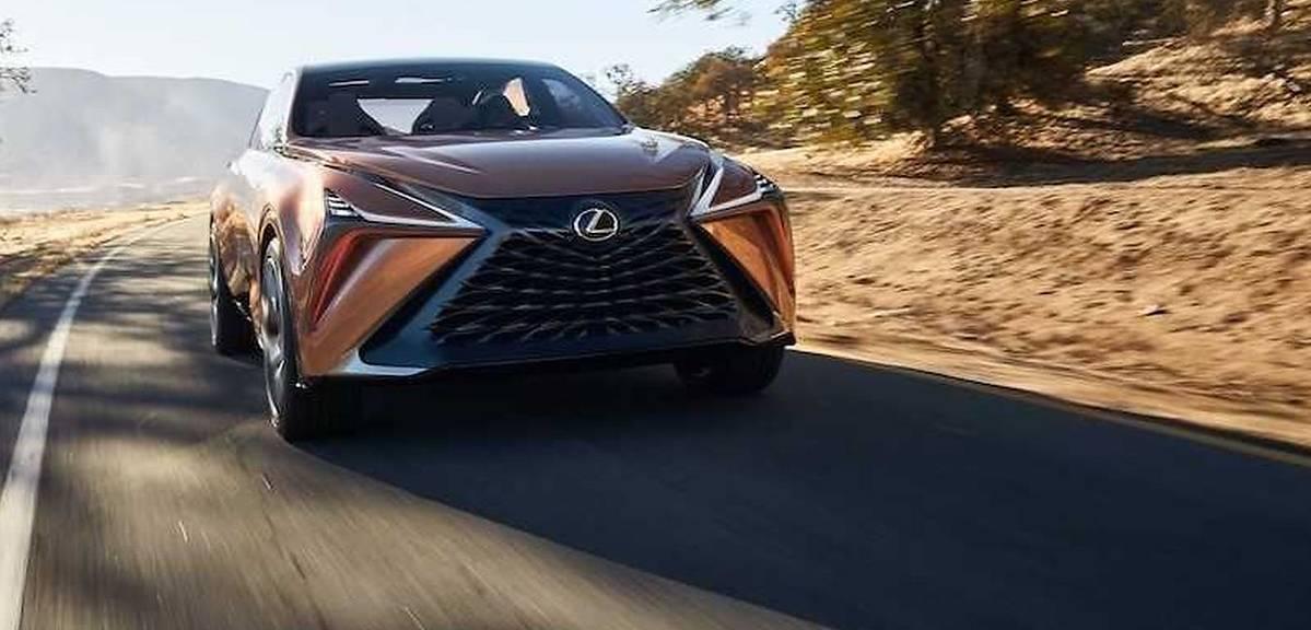 Lexus szykuje terenowego LSa?