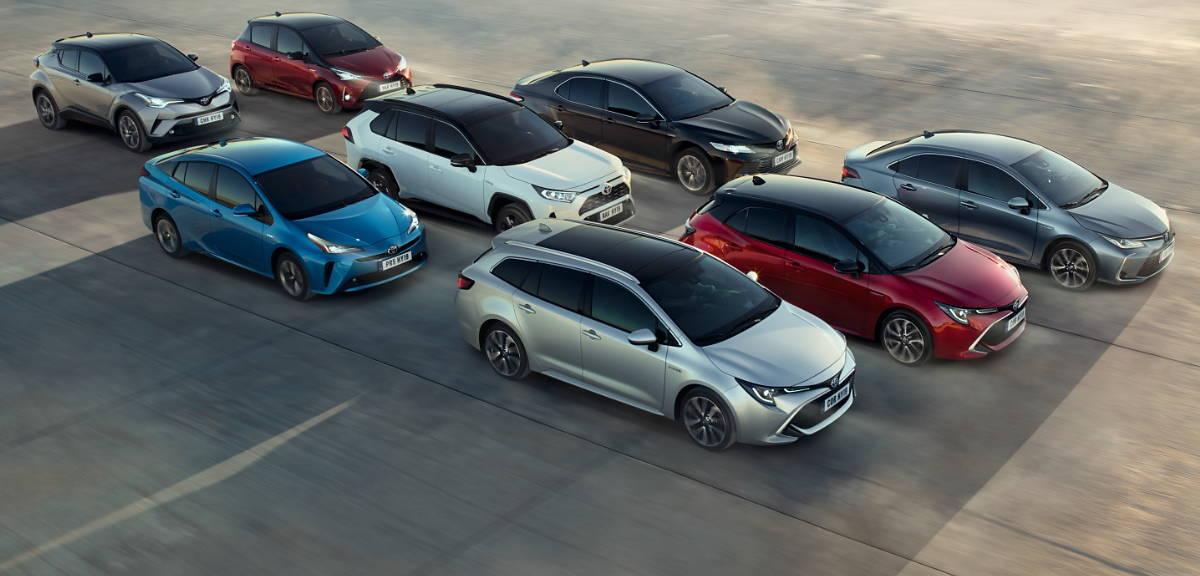 15 milionów samochodów hybrydowych Toyoty