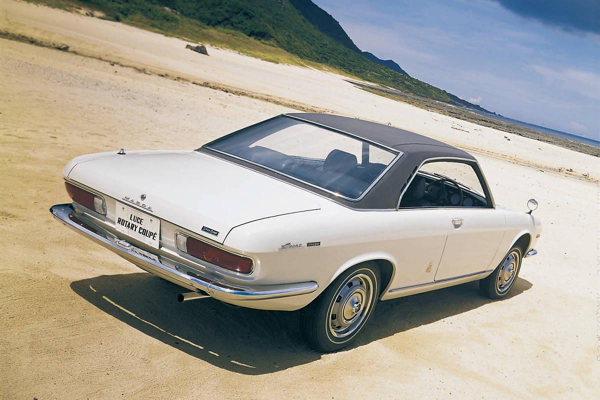 60 lat modeli Mazdy z nadwoziem coupe