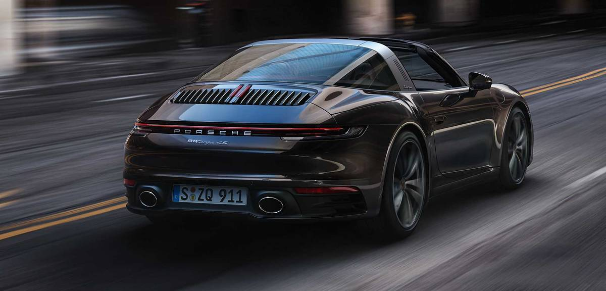 Porsche 911 Targa 4 oraz 911 Targa 4S