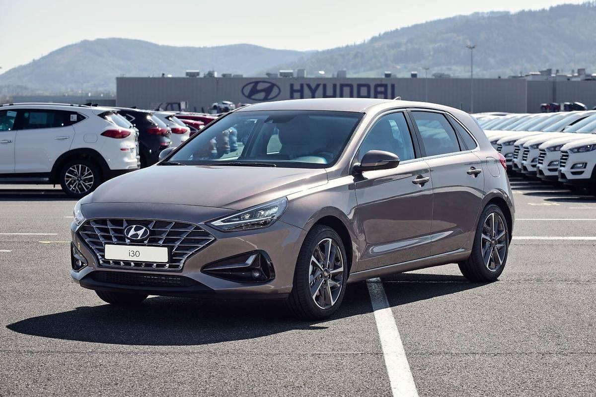 Nowy Hyundai i30 z Czech