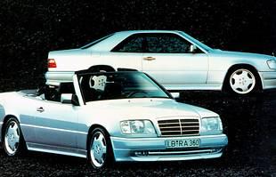 Mercedes E coupe i kabriolet - historia