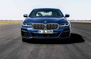 BMW 5 po liftingu
