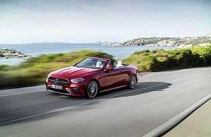 Mercedes E coupe i kabrio po liftingu