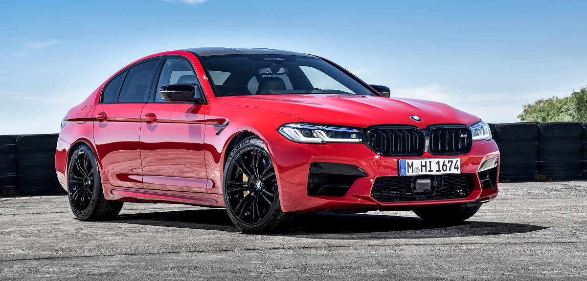 BMW M5 i M5 Competition po liftingu