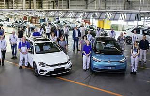 Volkswagen zakończył produkcję aut spalinowych w Zwickau