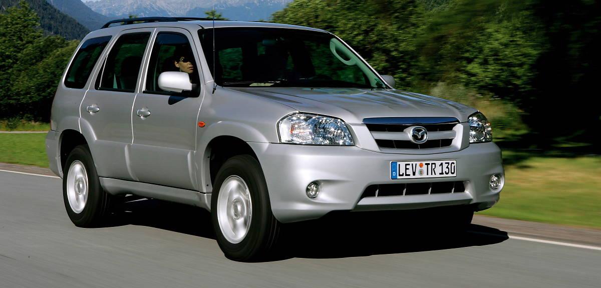 Historia SUV-ów Mazdy