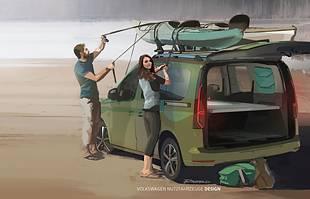 Volkswagen Caddy Beach. Kolejne nowe auto z Polski?