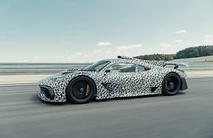 Mercedes-AMG Project ONE nadjeżdża