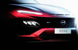 Hyundai Kona po liftingu. Pierwsze zdjęcia