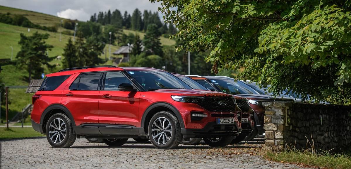 Ford Explorer plug-in już w Polsce