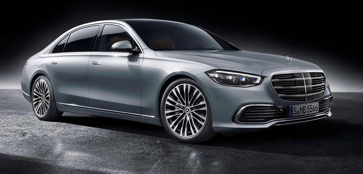 Mercedes klasy S. Oto nowy król samochodów!