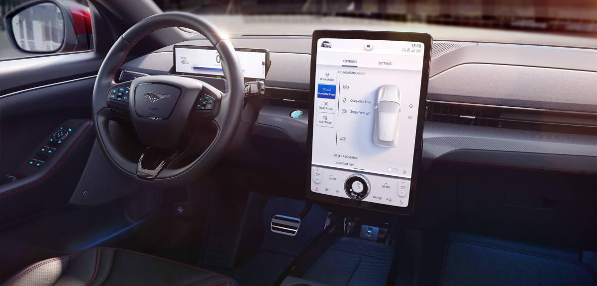 Ford Sync nowej generacji w Mustangu Mach-E