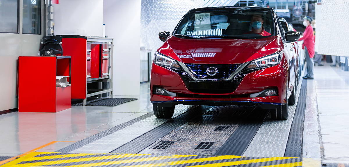 Pół miliona egzemplarzy Nissana Leaf