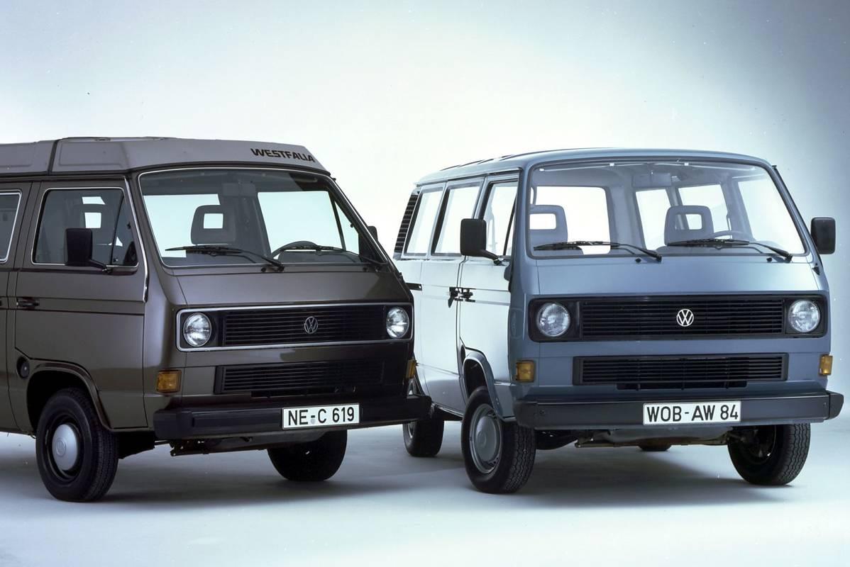 35 lat Volkswagena Multivana