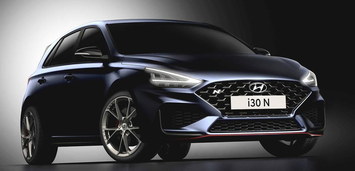 Hyundai i30 N po liftingu