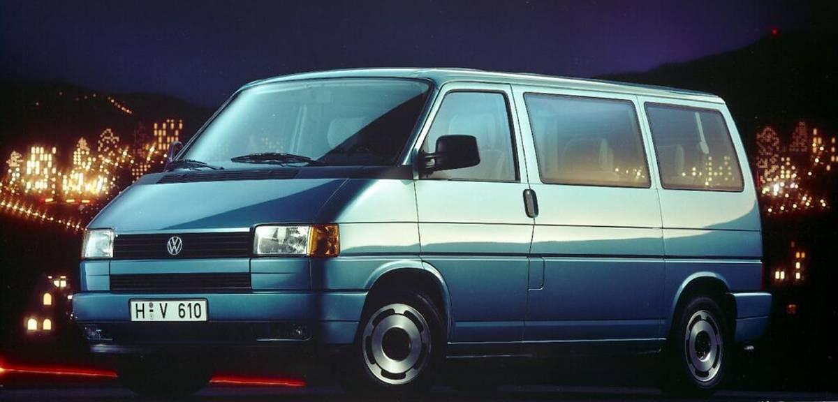Trzy dekady Volkswagena T4