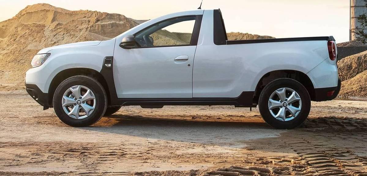 Dacia Daster Pickup - dobry pomysł?