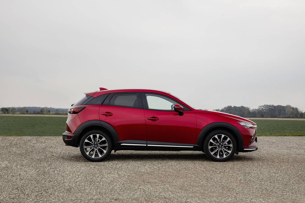 Mazda CX-3 z okrojoną gamą silnikową
