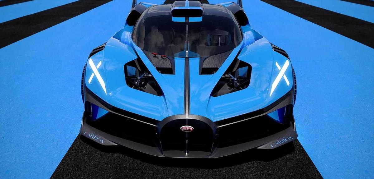 Bugatti Bolide na zdjęciach