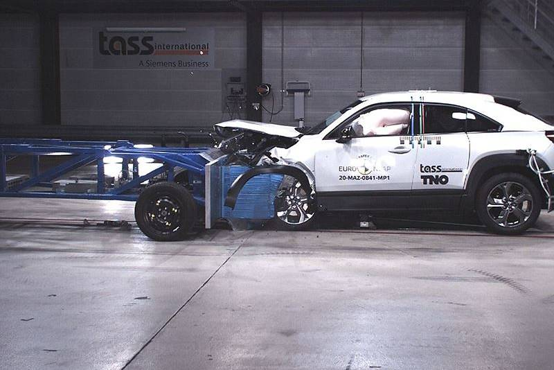 Honda Jazz i Mazda CX-30 wg Euro NCAP