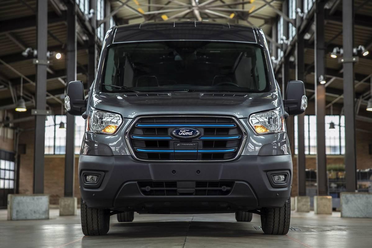 Tak wygląda Ford E-Transit