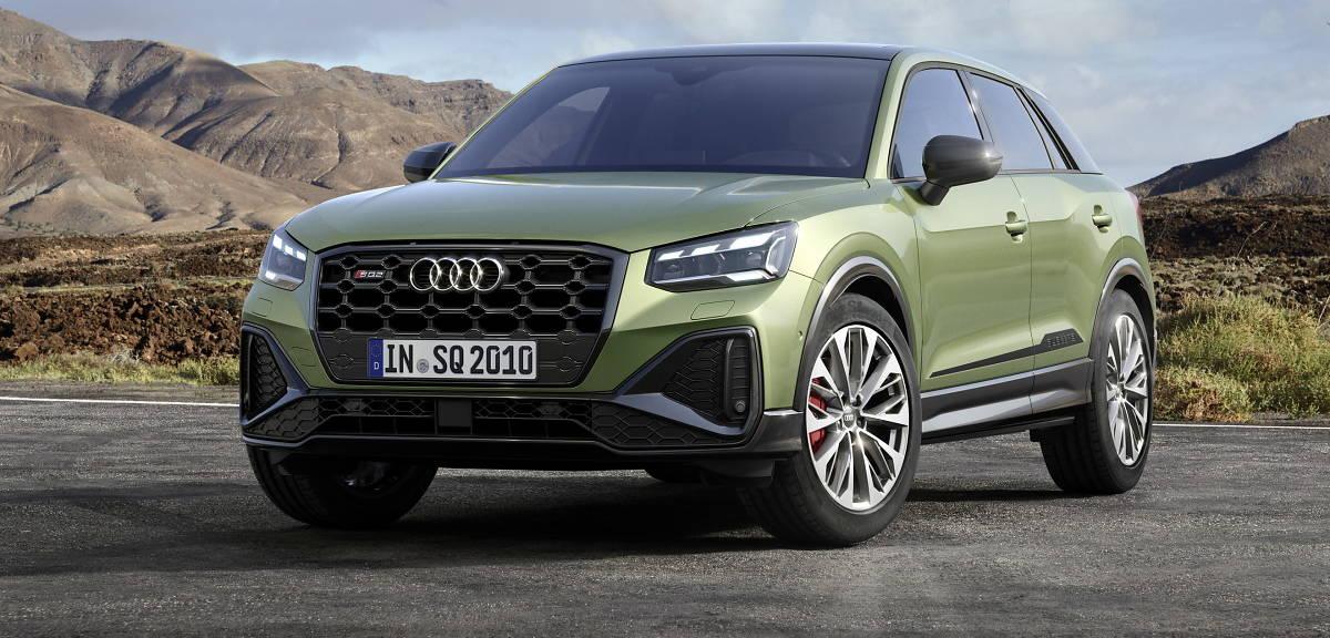 Audi SQ2 po liftingu