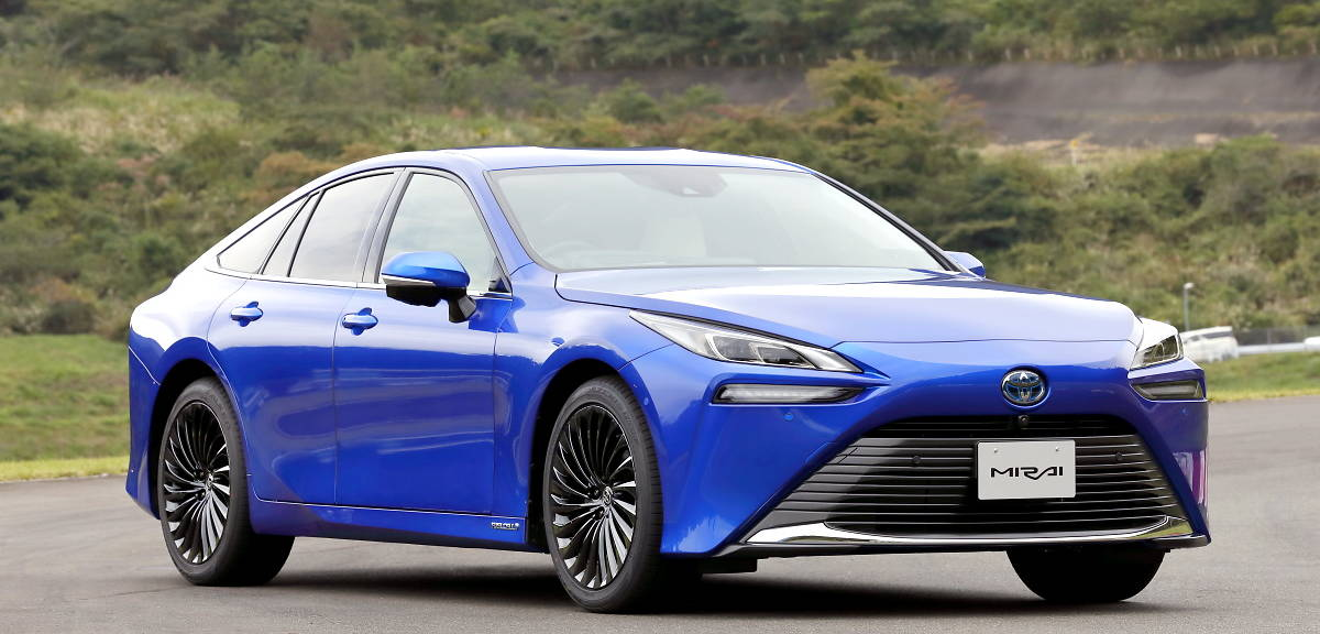 Toyota Mirai nowej generacji