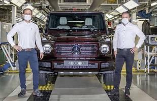 400 tys. Mercedesa Gelandewagen!