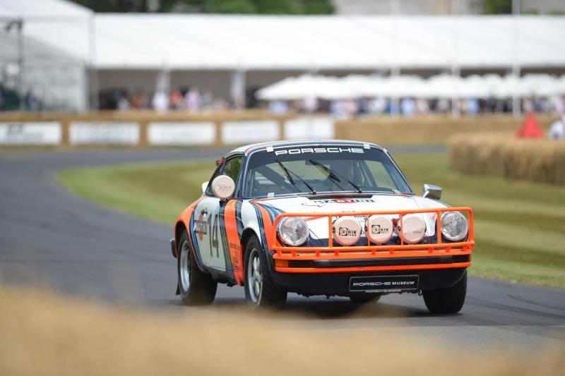 50 lat Porsche 911 w Goodwood