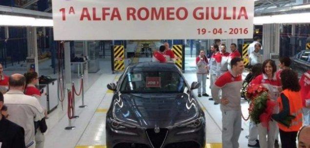 Alfa Romeo Giulia już w produkcji