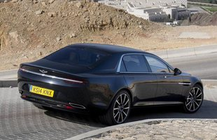 Aston Martin Lagonda. Pierwsze zdjęcia