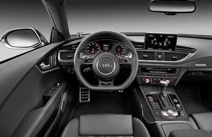 Wnętrze Audi RS7 Sportback