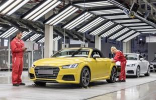 Audi TT Roadster już w produkcji