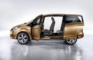 Ford B-Max - otwieranie drzwi w prototypie