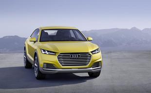 Będzie terenowe Audi TT?