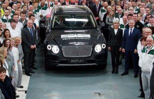 Bentley Bentayga już w produkcji