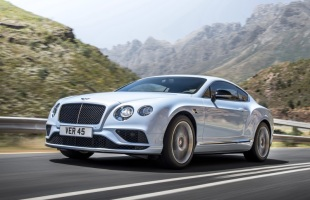 Bentley Continental po liftingu