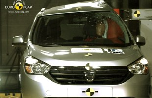 Test Euro NCAP Dacii Lodgy