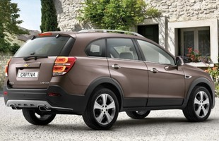 Chevrolet Captiva po liftingu