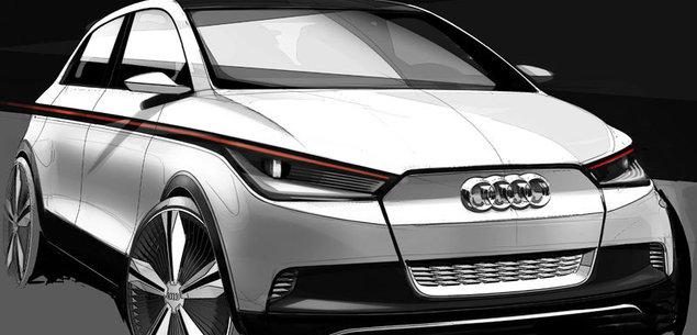Ekstrawaganckie Audi A2 po raz drugi