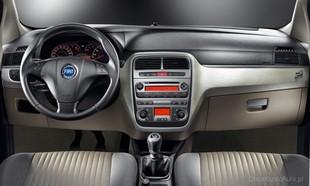 Wnętrze Fiata Grande Punto